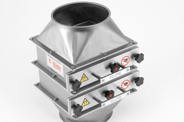 magnetic separators specifically designed and manufactured for the plastic processing industries